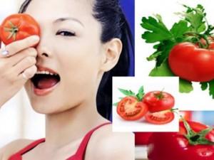 Những mẹo hay làm đẹp da từ quả cà chua