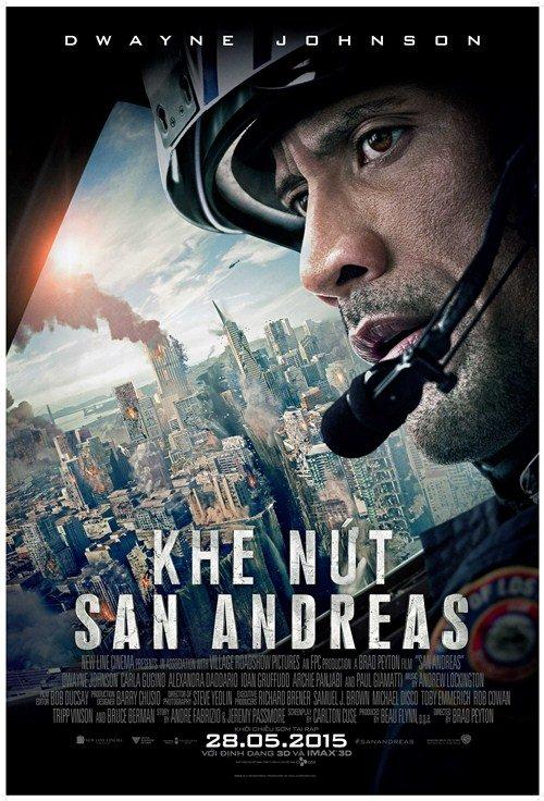 """Phim """"Khe nứt San Andreas"""": Mãn nhãn và xúc động - 1"""