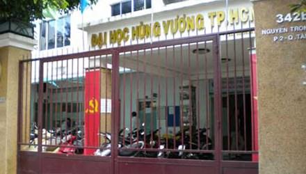Đại học Hùng Vương chưa được tuyển sinh trở lại - 1