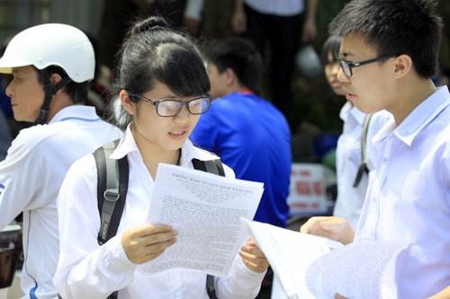 TPHCM: Hơn 77.000 thí sinh thi vào lớp 10 - 1