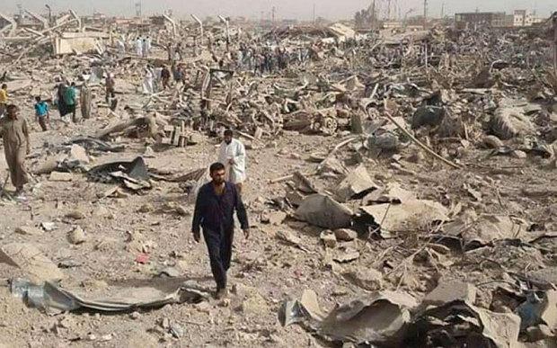 Nhà máy sản xuất bom xe lớn nhất của IS bị tiêu diệt - 2