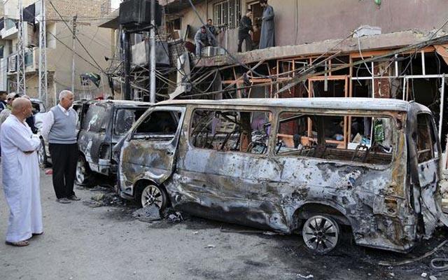 Nhà máy sản xuất bom xe lớn nhất của IS bị tiêu diệt - 1