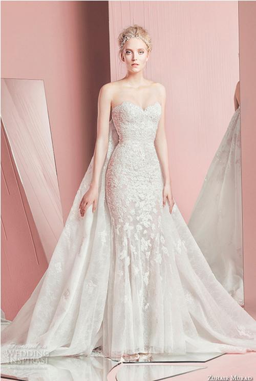 Nín thở trước vẻ đẹp của 17 chiếc váy cưới trong mơ - 1