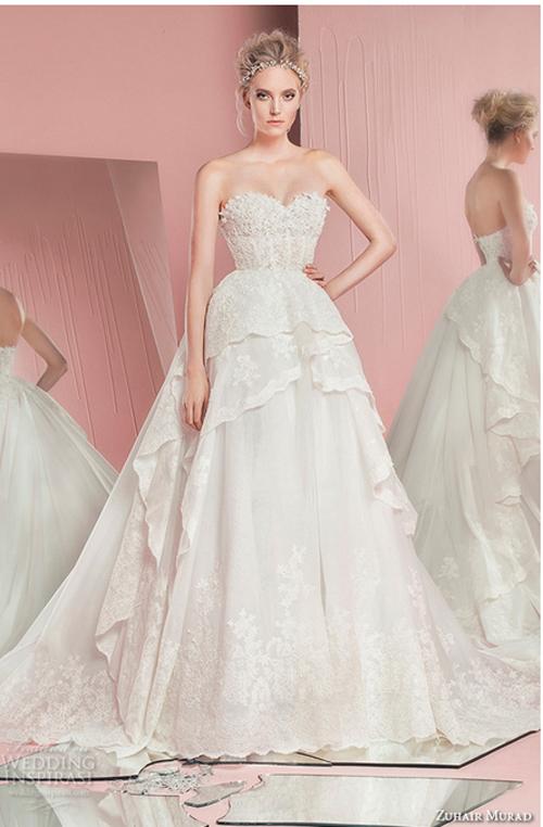 Nín thở trước vẻ đẹp của 17 chiếc váy cưới trong mơ - 5