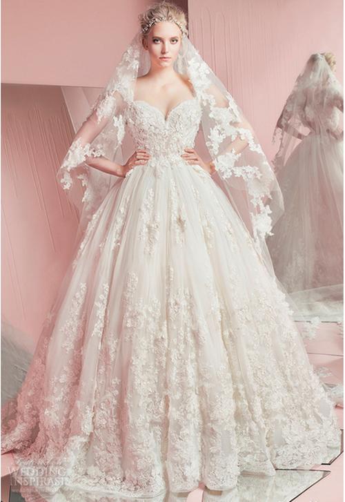 Nín thở trước vẻ đẹp của 17 chiếc váy cưới trong mơ - 4