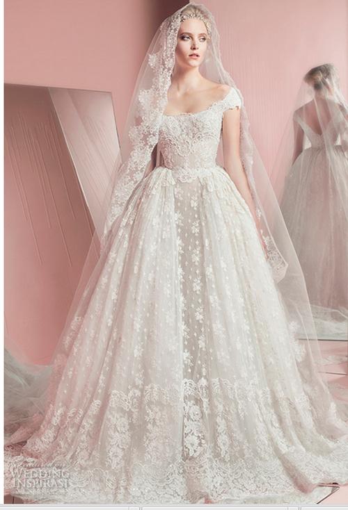 Nín thở trước vẻ đẹp của 17 chiếc váy cưới trong mơ - 8