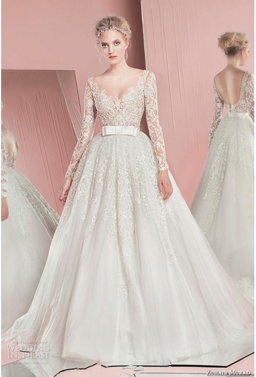 Nín thở trước vẻ đẹp của 17 chiếc váy cưới trong mơ - 9