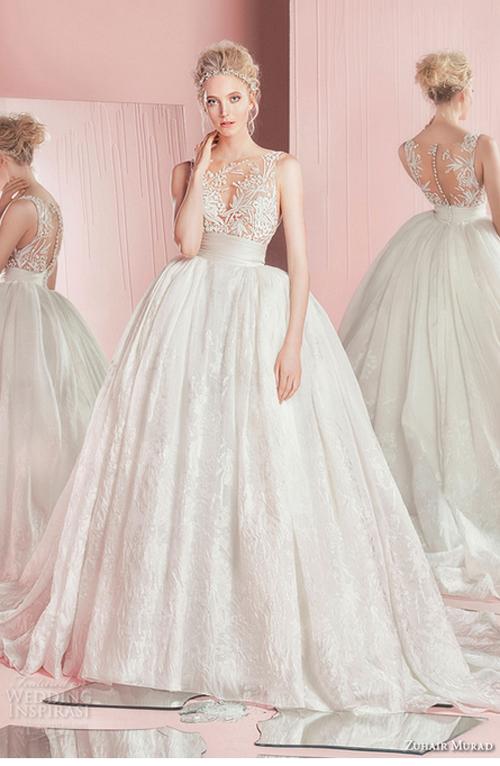 Nín thở trước vẻ đẹp của 17 chiếc váy cưới trong mơ - 12