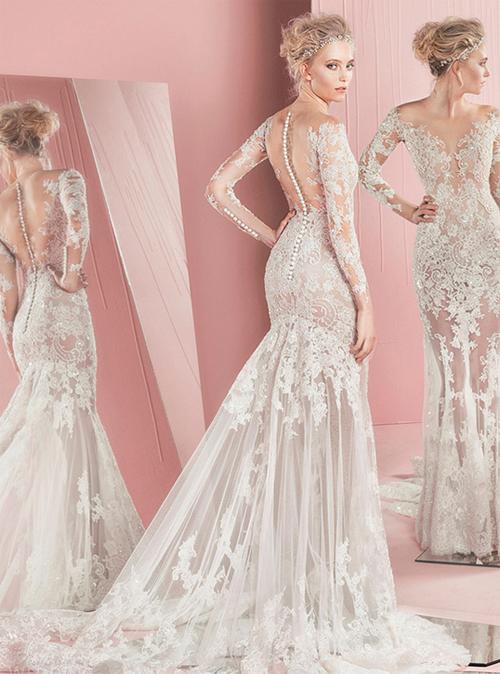 Nín thở trước vẻ đẹp của 17 chiếc váy cưới trong mơ - 16