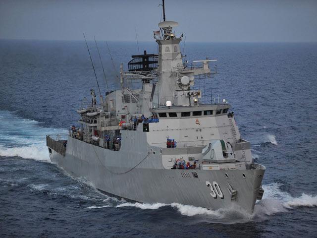 Tàu hải cảnh TQ rình mò quanh lãnh hải Malaysia - 2
