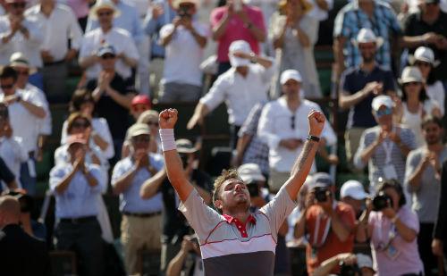Tsonga - Wawrinka: Cuộc chiến thể lực (BK Roland Garros) - 1