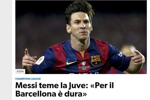 Chưa đá chung kết, báo chí Ý đã sợ hãi Messi - 1