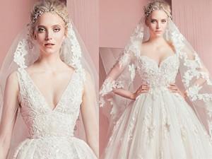 Nín thở trước vẻ đẹp của 17 chiếc váy cưới trong mơ