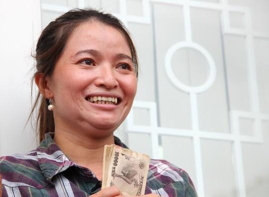 """Vụ 5 triệu Yên: """"Chị sẽ dùng tiền đúng mục đích"""" - 2"""