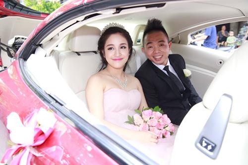 Phúc Bồ rước cô dâu hot girl bằng xe mui trần - 4