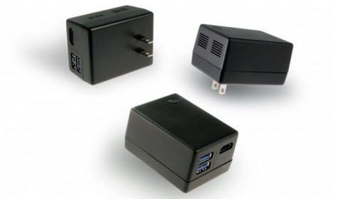 Máy tính Windows 10 nhỏ bằng củ sạc điện thoại - 1