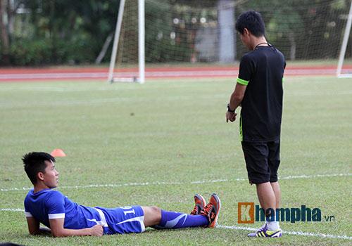 Sợ mất quân đấu Thái Lan, U23 Việt Nam đổi sân tập - 1
