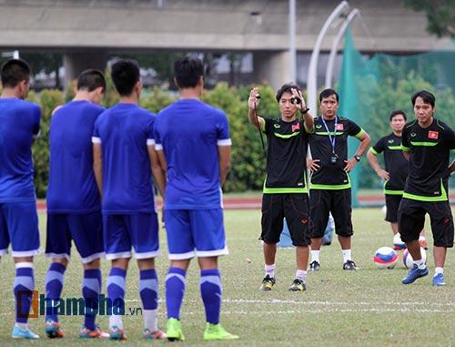 Sợ mất quân đấu Thái Lan, U23 Việt Nam đổi sân tập - 13