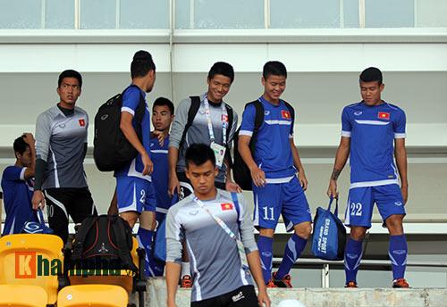 Sợ mất quân đấu Thái Lan, U23 Việt Nam đổi sân tập - 9