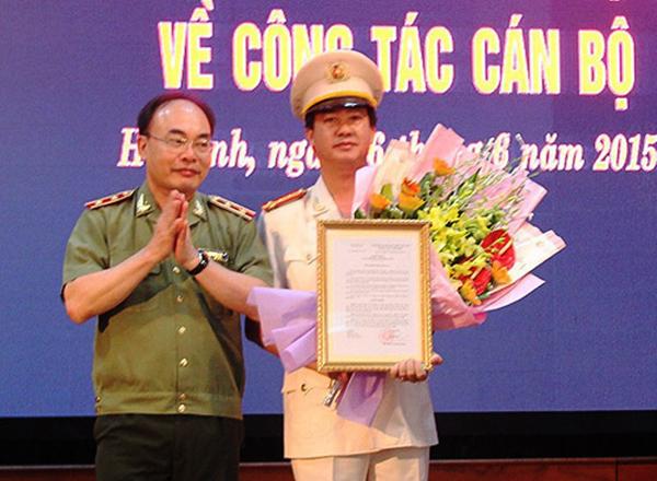 Điều Phó Cục trưởng về làm Giám đốc Công an tỉnh Hà Tĩnh - 1