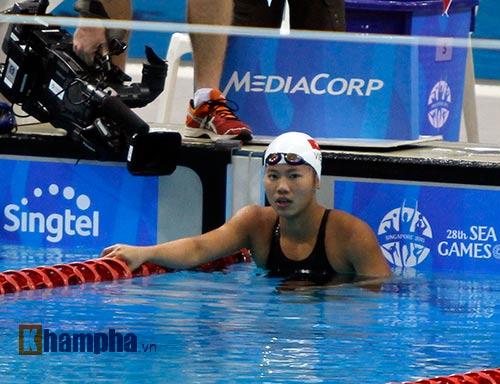 Ánh Viên, Quý Phước thi nhau lập kỷ lục SEA Games mới - 2