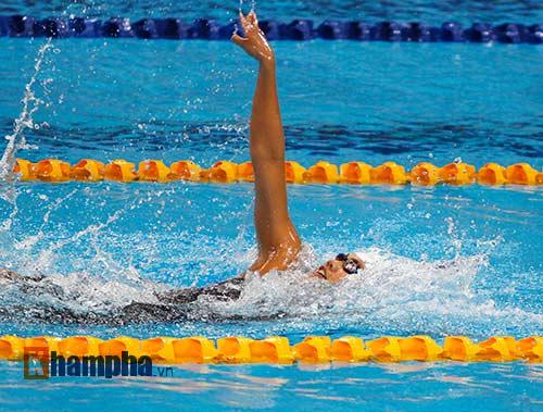 Ánh Viên, Quý Phước thi nhau lập kỷ lục SEA Games mới - 4