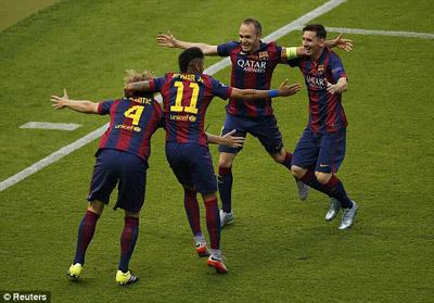TRỰC TIẾP Barca - Juventus: Đòn kết liễu (KT) - 8