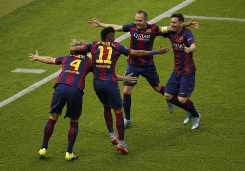 Rakitic đi vào lịch sử Barca và Champions League - 4