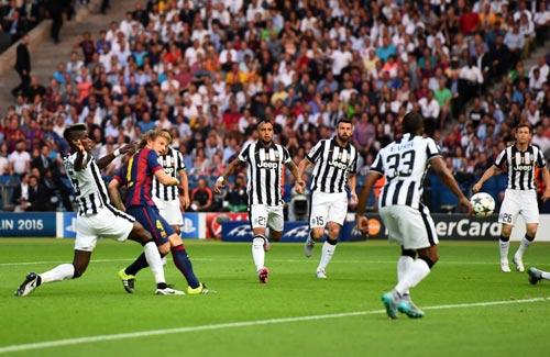 Rakitic đi vào lịch sử Barca và Champions League - 1