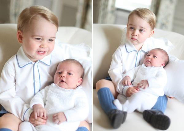 Lộ ảnh cực đáng yêu của tiểu công chúa, hoàng tử Anh - 2