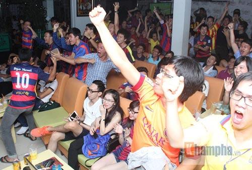 Fan Việt lạc giọng vì cú ăn 3 huyền diệu của Barca - 2