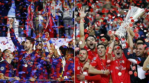 """Barca vô địch C1: Nối dài"""" Kỷ nguyên vàng"""" của Liga - 1"""