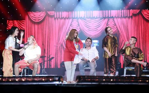 Thiên Vương (MTV) khoe con trên sân khấu - 11