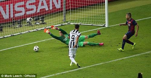 """CK Cup C1: Juventus gục ngã vì """"mắc bẫy"""" Barca - 1"""