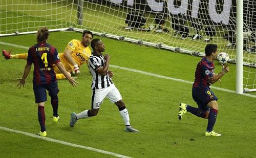 """CK Cup C1: Juventus gục ngã vì """"mắc bẫy"""" Barca - 2"""