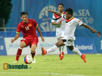 TRỰC TIẾP U23 VN - U23 Đông Timor: Không thể chống đỡ (KT) - 12