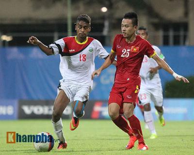 TRỰC TIẾP U23 VN - U23 Đông Timor: Không thể chống đỡ (KT) - 6