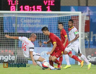 TRỰC TIẾP U23 VN - U23 Đông Timor: Không thể chống đỡ (KT) - 9