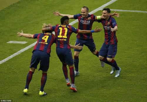 Barca vô địch C1: Messi vĩ đại nhờ biết hi sinh - 1