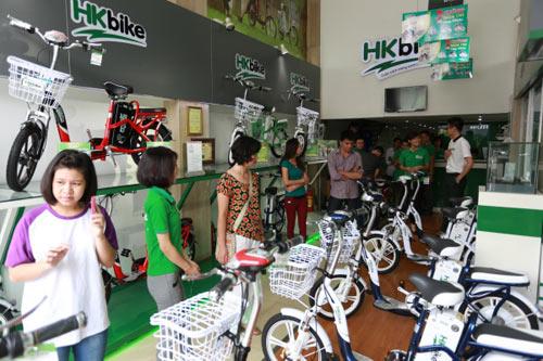 Hé lộ siêu phẩm xe đạp điện năm 2015 - 2