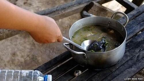 Thú vị chuyện dùng cá bằng sắt nấu ăn để chữa bệnh - 2