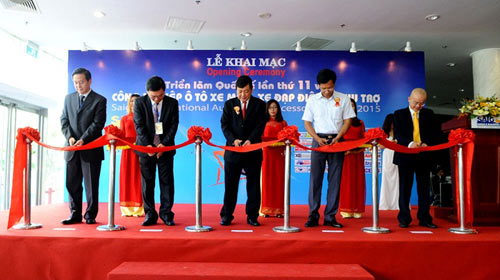 Xe điện AIMA - điểm sáng tại Saigon Autotech 2015 - 1