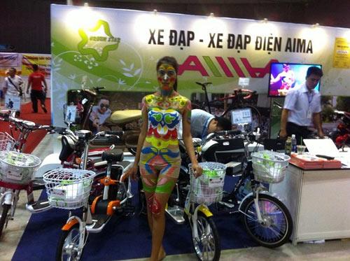 Xe điện AIMA - điểm sáng tại Saigon Autotech 2015 - 2