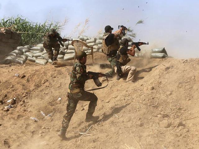 Lính Iraq đánh bật IS khỏi thị trấn chiến lược - 1