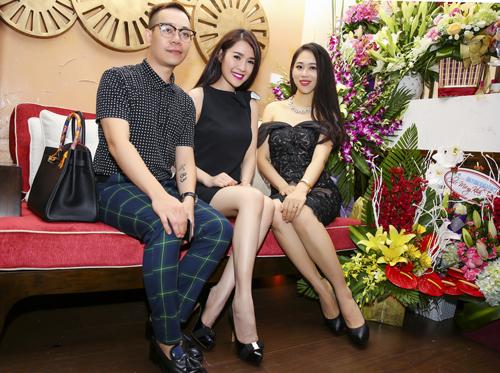 Trang Nhung diện váy đen khoe làn da trắng sứ - 10