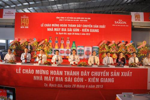Bia Sài Gòn tự hào thương hiệu Việt Nam - 1