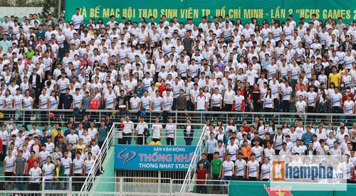 Dàn hot girl quy tụ tại giải bóng đá sinh viên TP.HCM - 1