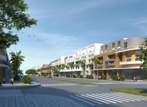 Mở bán 500 lô đất tại Khu đô thị sinh thái ven sông Hòa Xuân - 1
