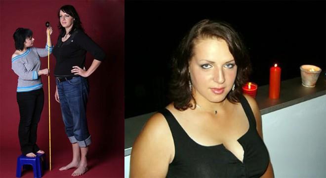 """4 người mẫu nữ có chiều cao """"khủng"""" nhất thế giới - 2"""