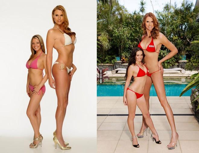 """4 người mẫu nữ có chiều cao """"khủng"""" nhất thế giới - 4"""